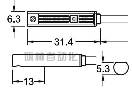 磁簧管检测电路