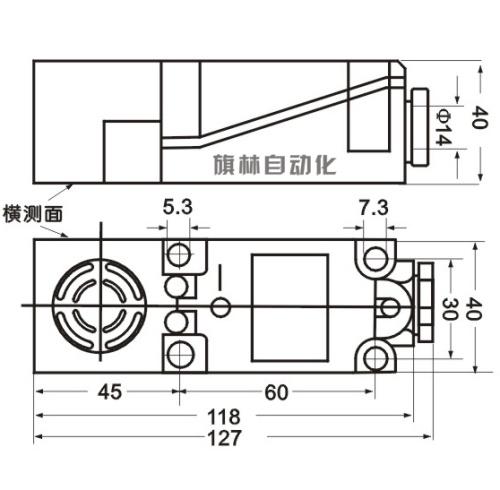 电容式接近开关qlxg40|旗林自动化|g40电容式接近