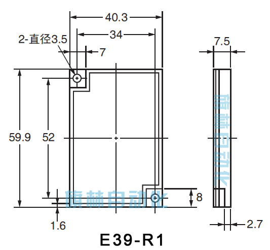 ts一12一4斜管光电开关的电路图