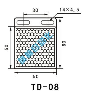 td-08光电开关反光板 类型 光电开关反射板 型号 td-08 颜色 白色 产
